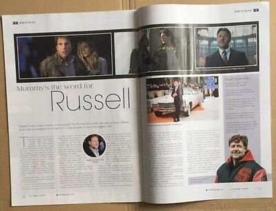 RUSSELL CROWE ETC Magazine Article June 2017