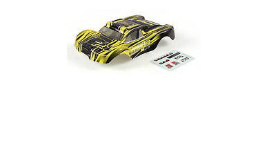 Helion Animus 1:8 Scale Short Course Black and Yellow Body Shell HLNA0037