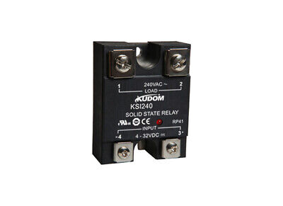 Kudom 60A 90-280Vac Zero X & Led Panel/Surface Mount Solid State Relay