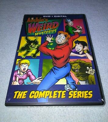 Archies Weird Mysteries - The Complete Series + Digital  DVD) *RARE