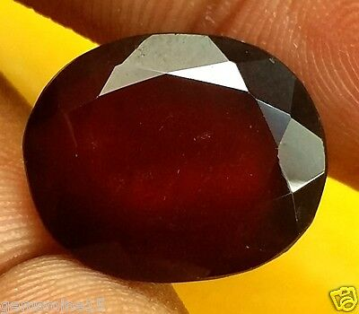 9.78 CT African Hessonite GIE Certified Nonheated Untreated Best quality Gomed