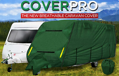 CPL CoverPRO Heavy Duty Green Caravan Cover to suit Caravans from 23' to 25'