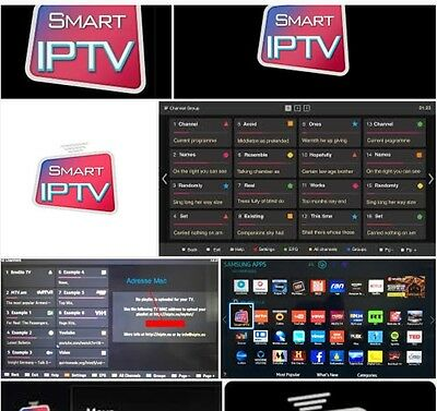 Iptv Arabic Middle East,french  Subscription For Smart Tv Android Box Mag Vod