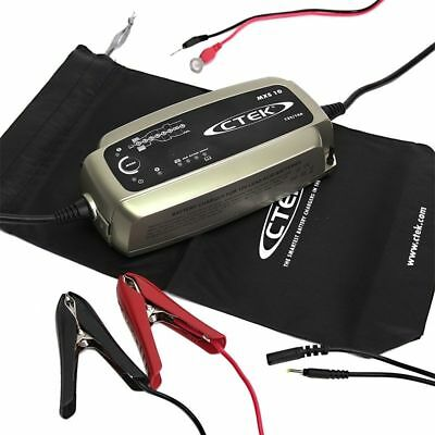 Chargeur de batterie automatique CTEK MXS10.0 12v 10A pour batteries AGM WET GEL