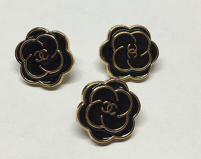 Chanel buttons - Listing for 3 SMALL Buttons