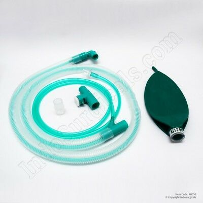 Bain Circuit (Adult)Anesthesi corrugated tube is fitted with an expiratory valve