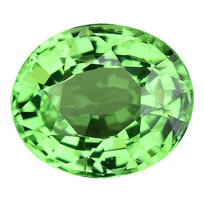 0.745 Cts Excellent Luster Green Natural Tsavorite Garnet Oval Gems See Video