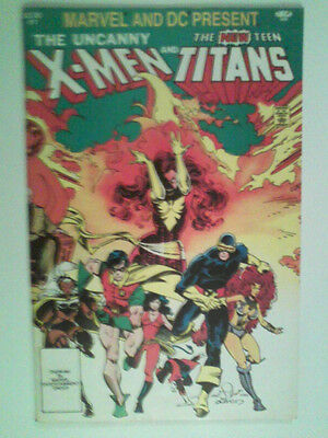 Marvel And DC Present Featuring The Uncanny X-Men And The New Teen Titans #1