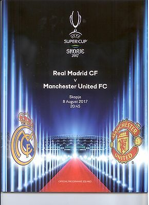 2017 UEFA SUPER CUP - MANCHESTER UNITED v REAL MADRID
