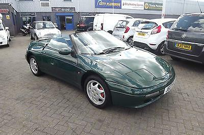 Lotus Elan SE 1.6 SPORTS CONVERTABILE GREEN ALLOY WHEELS