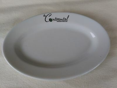 """Vintage ~ Victoria ~ Pate De Limoges 10 3/4"""" Oval Plate ~ The Continental"""