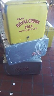 LoTCoca-cola drink in bottles silver and crown royal w/ bottle opener