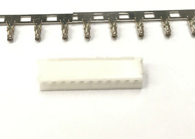 JST ZH 1.5mm Pitch 11-Pin Male Housing Connector + Male Crimps Pin Terminal x 50