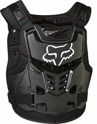 2018 Fox Racing Proframe LC Chest Protector Black Roost Guard Adult All Sizes MX