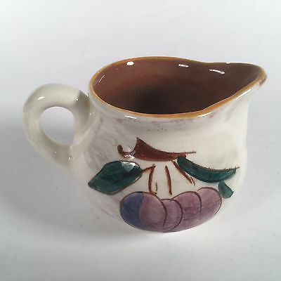 STANGL Plum Themed Creamer. Very Good (LB)