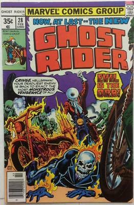 Ghost Rider #28 (1978 Marvel)