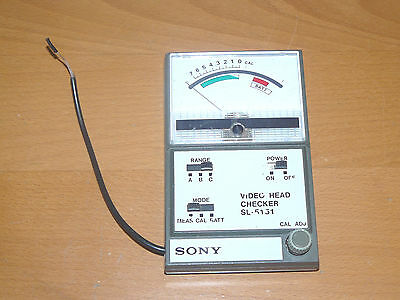 Sony VIDEO HEAD CHECKER SL-5151 - Betamax - inductance meter tester