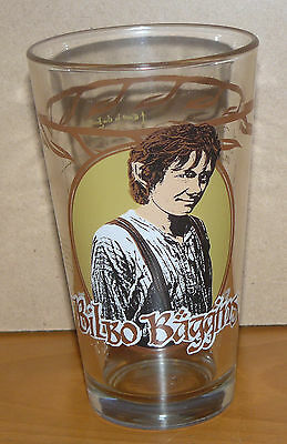 The Hobbit collectible drinking glass - BILBO - An Unexpected Journey