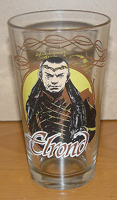 The Hobbit collectible drinking glass - ELROND - An Unexpected Journey