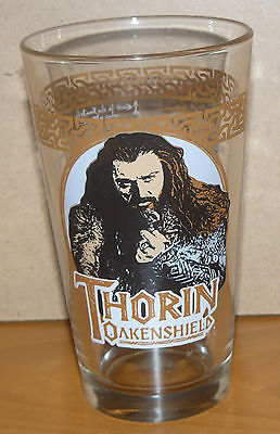 The Hobbit collectible drinking glass - THORIN - An Unexpected Journey