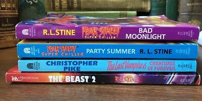 R.L. Stine Suoer Chillers Mixed Lot- Like New! Unread!