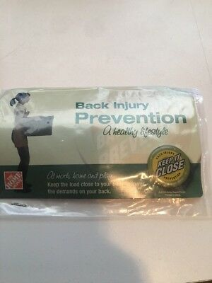 NEW Pin:  Home Depot~Back Injury Prevention~Keep it Close~ #2