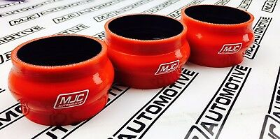 MJC Automotive HKS RSK Replacement Hoses In Black Direct Fit Civic FN2 Type R