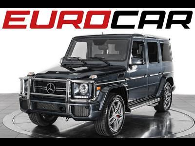 2015 Mercedes-Benz G-Class G63 AMG 2015 Mercedes-Benz G 63 AMG - Remaining Warranty, Red designo Leather Package