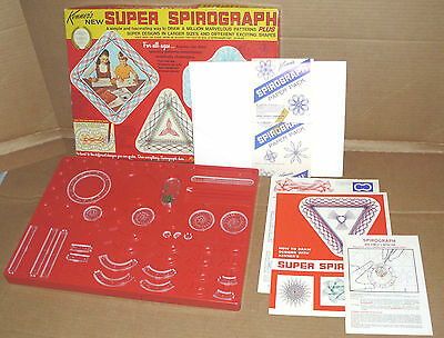 Kenner SUPER SPIROGRAPH #240 vintage toy
