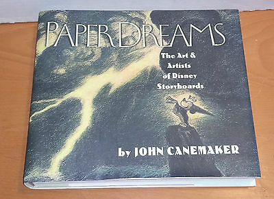 Paper Dreams: Art and Artists of Disney Storyboards (John Canemaker book)