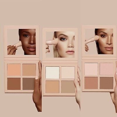 KKW Beauty Powder Contour & Highlight Kit In 3 Colours Free P&P Brand New