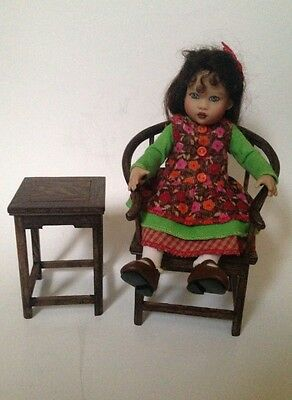 Set Of 5 Furniture For Sitting Doll Tiny Tot Marie Osmond Kish Riley Lawton 9""