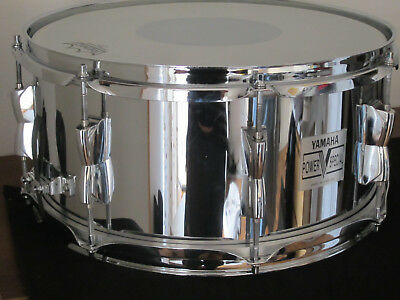 "Yamaha 14"" POWER V Special Snare - Made in England by Premier. Super Zustand!"