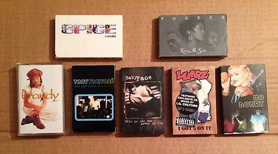 7 x Mixed Rare Cassettes Cassette Tapes Singles VGC Bargain Joblot 5 Collectable
