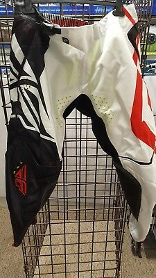 """Fly Racing EVO pant - BLACK/WHITE/RED PANTS - """"Switchback"""""""