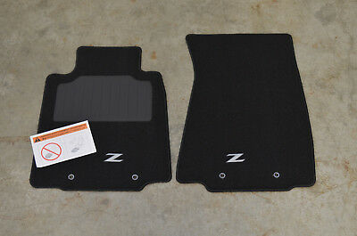 Wonderful NEW Genuine OEM 2009 2017 Nissan 370Z BLACK Carpet Floor Mats 999E2 ZV000