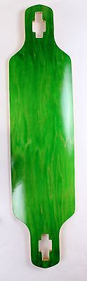 """40"""" x 9.5"""" Drop Through Canadian Maple Green Stained"""