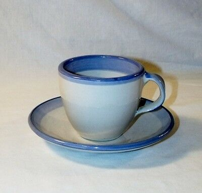 Vintage MA Hadley CUP & SAUCER, Signed
