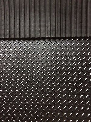 Heavy Duty Large Rubber Gym Mat Commercial Flooring 6ftx4ft 17mm garage mat