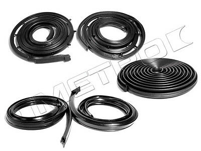 1963-1964 Galaxie WEATHERSTRIP Seal KIT 2dr HT (Fastback) 63 64