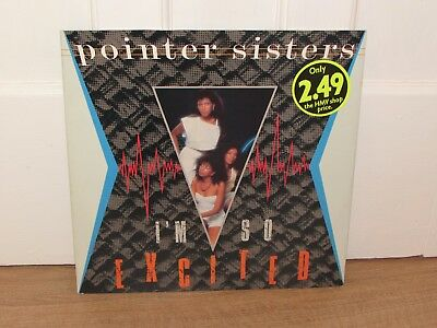 """Pointer Sisters – I'm So Excited 12"""" Vinyl  single"""