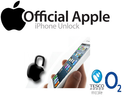 O2 Tesco Giffgaff Uk Iphone 4, 5, 6 & 7 Factory Unlock - Clean Imei-Fast Service