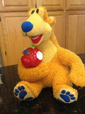 Disney Alphabet Bear In The Big Blue House Talking Abc Plush Fisher Price Apple