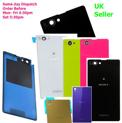 Sony Xperia Z Z1 Z2 Z3 Z4 Z3+ Z5, Z5P, Z1 Z3 Z5 Compact Mini Battery Back Cover