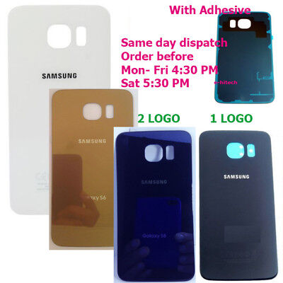 SAMSUNG GALAXY S6 Rear Battery Back Cover Housing case Glass door SM-G920F
