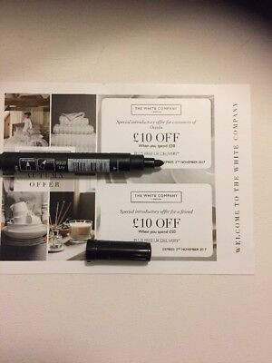 The White Company Discount Voucher £10 Off £50 Spend For You & A Friend 2/11/17