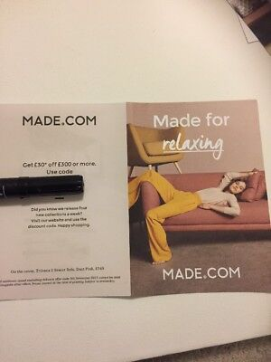 MADE.com £30 Discount Voucher Code when Spending £300+ Excl. Delivery.To 5/11/17