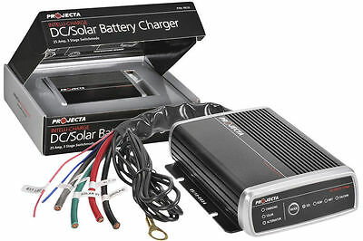 Projecta Idc 25 12V Dc To Dc 25A Amp Battery Charger Agm Deep Cycle Solar Lv