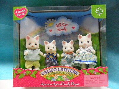 Calico Critter Silk Cat Family CC1693 for girls 3-9 years old