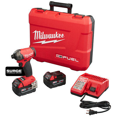 Milwaukee 2760-22 M18 FUEL 18-Volt 1/4 in. Hex Hydraulic Impact Driver Tool Kit